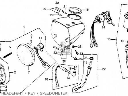 Honda NA50 EXPRESSII 1981 (B) USA parts lists and schematics