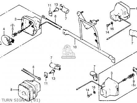 Honda Na50 Expressii 1981 (b) Usa parts list partsmanual