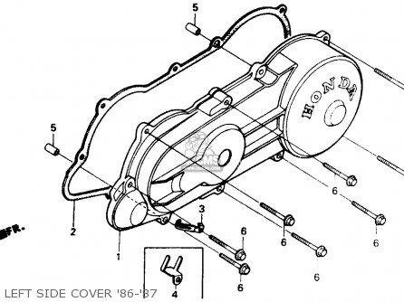 Honda Aero 50 Workshop Manual 1985 1986 1987