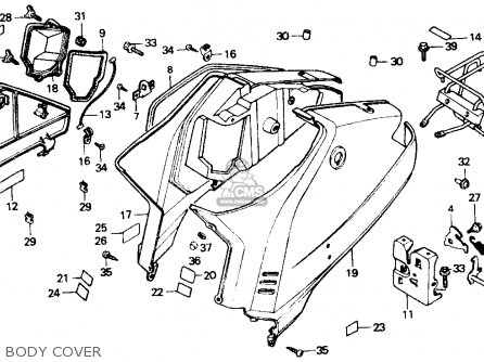 Honda Nb50 Aero 50 1986 Usa parts list partsmanual partsfiche