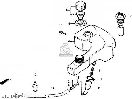 Honda Nb50 Aero 50 1987 (h) Usa parts list partsmanual