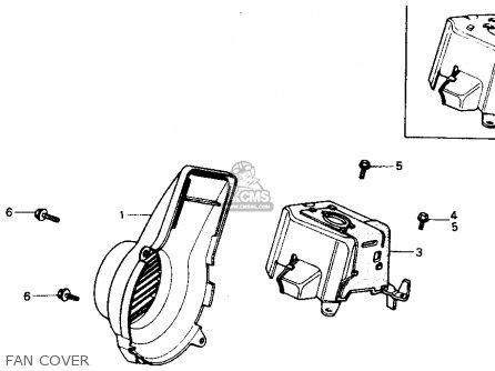 Honda Nb50 Aero 50 1987 Usa parts list partsmanual partsfiche