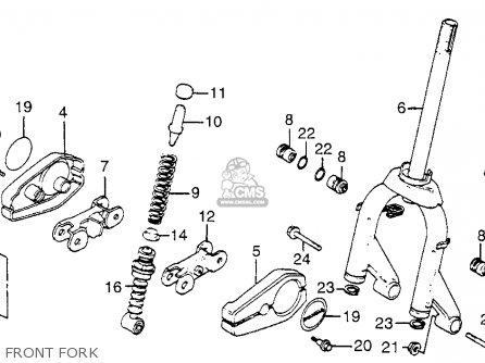 Honda NB50M AERO 50 1983 (D) USA parts lists and schematics