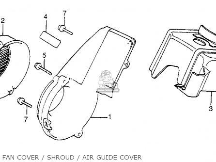 Honda Nb50m Aero 50 1984 (e) Usa parts list partsmanual partsfiche