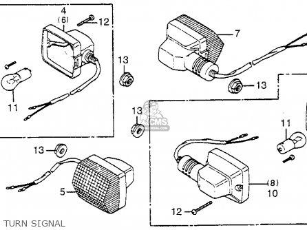 Honda Nb50m Aero 50 1984 Usa parts list partsmanual partsfiche