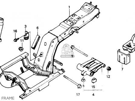 Honda Nb50m Aero 50 1985 (f) Usa parts list partsmanual