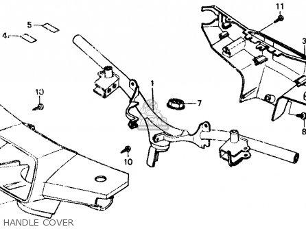 Honda NB50M AERO 50 1985 (F) USA parts lists and schematics