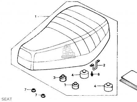 Honda Nb50m Aero 50 1985 Usa parts list partsmanual partsfiche