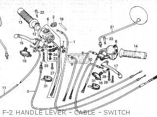 Honda NC50 1979 (Z) U.S.A parts lists and schematics