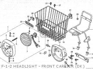 Honda NC50 1982 (C) parts lists and schematics