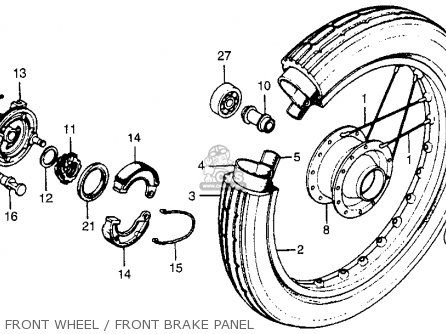 Honda Nc50 Express 1978 Usa parts list partsmanual partsfiche