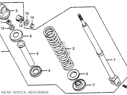 Honda Nc50 Express 1979 Usa parts list partsmanual partsfiche