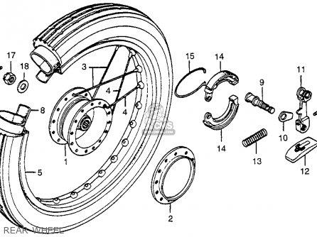 Honda NC50 EXPRESS 1979 (Z) USA parts lists and schematics