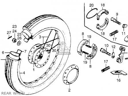 Honda NC50 EXPRESS 1980 (A) USA parts lists and schematics