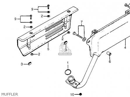 Honda Nc50 Express 1980 Usa parts list partsmanual partsfiche