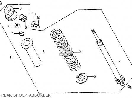 Honda NC50 EXPRESS 1982 (C) USA parts lists and schematics