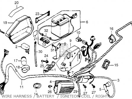 Honda Nc50 Express 1982 Usa parts list partsmanual partsfiche