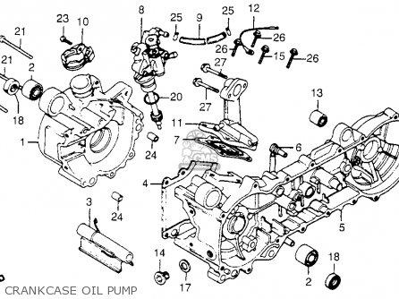 Honda Nc50 Express 1983 (d) Usa parts list partsmanual