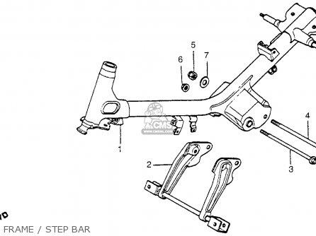 Honda Nc50 Express 1983 Usa parts list partsmanual partsfiche