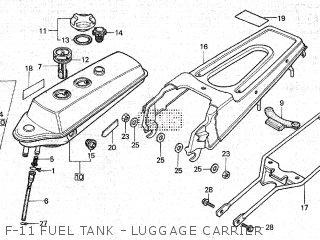 Honda NC50 TYPE III 1980 (A) parts lists and schematics