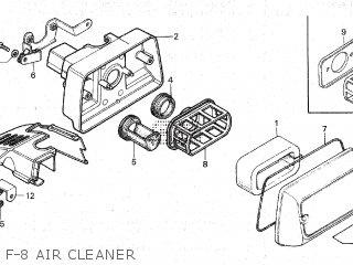 Honda NC50 U.S.A parts lists and schematics