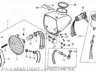Honda NC50K1 U.S.A parts lists and schematics