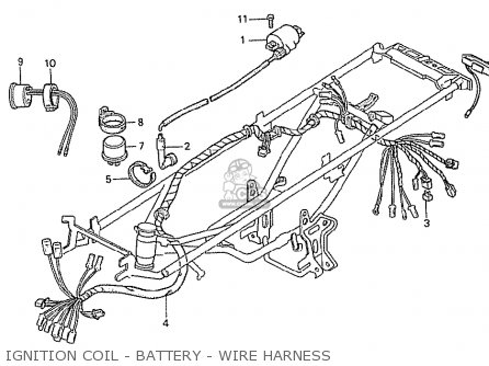 Honda NCZ50 MOTOCOMPO 1981 (B) AUSTRALIA parts lists and