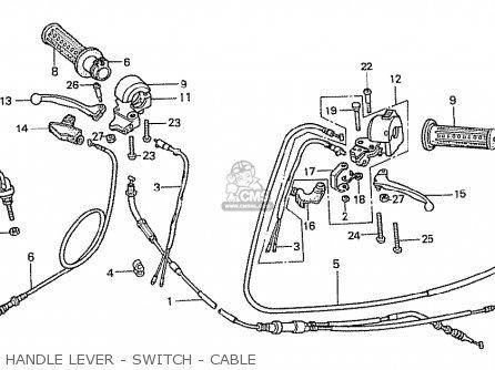 Honda NCZ50 MOTOCOMPO 1981 (B) FRANCE parts lists and