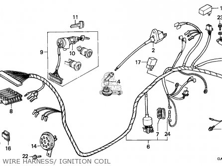 Honda NE50 1990 (L) SPAIN parts lists and schematics