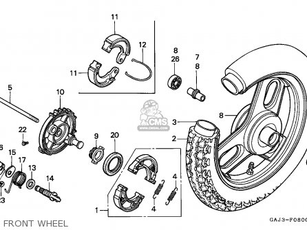Honda NE50 1994 (R) SPAIN parts lists and schematics