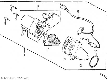 Honda Nh125 1984 Aero 125 Usa parts list partsmanual