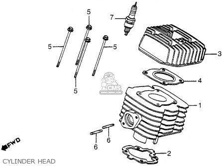Honda NH125 AERO 125 1984 (E) USA parts lists and schematics