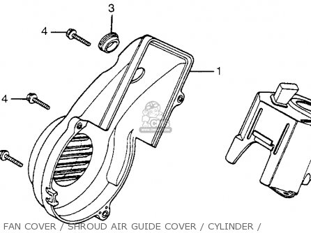 Honda Nh125 Aero 125 1984 (e) Usa parts list partsmanual