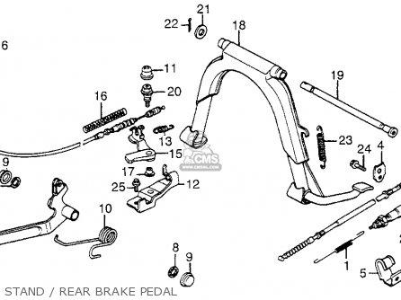 Honda NH125 AERO 125 1984 (E) USA parts lists and schematics