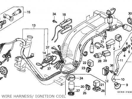 Honda NH50MS AERO 1989 (K) GERMANY KPH parts lists and