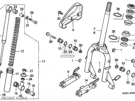 Honda Nh50ms Aero 1990 (l) Germany Kph Mk parts list