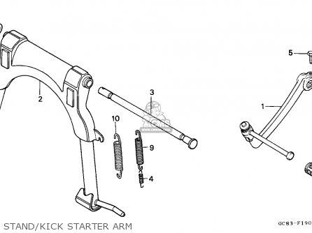Honda NH50MS AERO 1990 (L) GERMANY KPH MS parts lists and