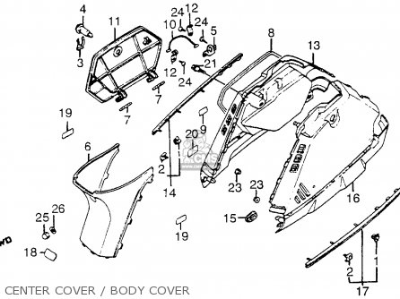 Honda Nh80 Aero 80 1985 (f) Usa parts list partsmanual