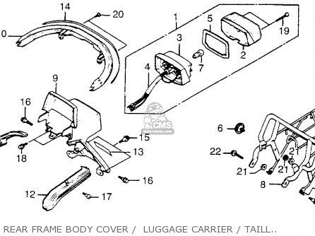 Honda Nh80 Aero 80 1985 (f) Usa parts list partsmanual