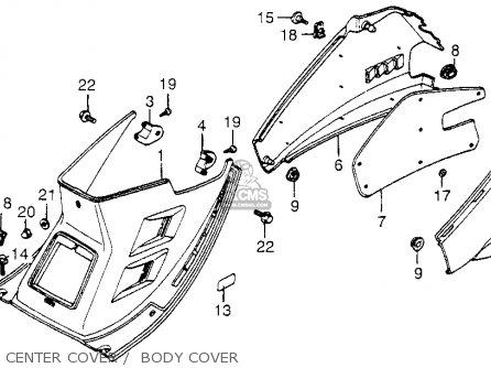 Honda Nh80md Aero 80 1983 Usa parts list partsmanual