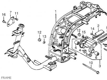 Honda NH80MD AERO 80 1984 (E) USA parts lists and schematics