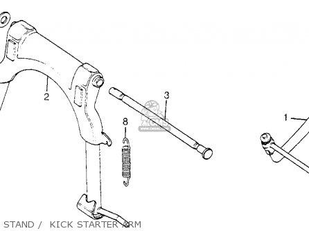 Honda Nh80md Aero 80 1984 (e) Usa parts list partsmanual