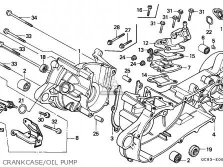 Honda Nh80md Lead 1993 (p) England Mph parts list