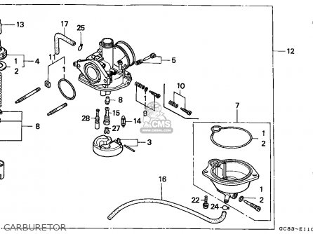 Honda NH80MS LEAD 1992 (N) FRANCE KPH parts lists and
