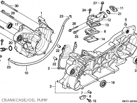 Honda NH90 LEAD 1991 (M) SPAIN parts lists and schematics