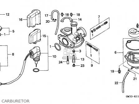 Honda Nh90 Lead 1994 (r) Spain parts list partsmanual