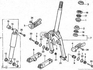 Honda NJ50MD GYRO X 2000 (Y) JAPAN TD01-210 parts lists