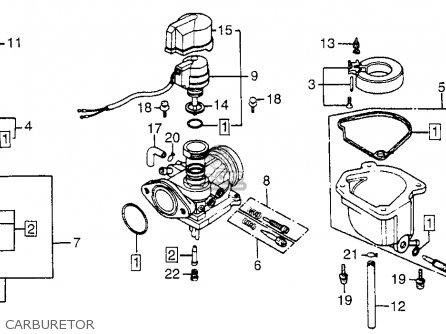 Honda Nn50md 1984 Gyro Usa parts list partsmanual partsfiche