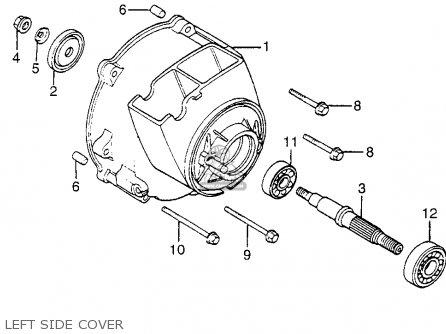 Honda Nn50md Gyro 1984 (e) Usa parts list partsmanual