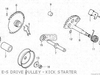 Honda NP50 MELODY MINI 1983 (D) parts lists and schematics
